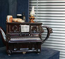 The Piano Teapot by Marilyn Harris