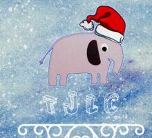 Johnlock Christmas Sticker