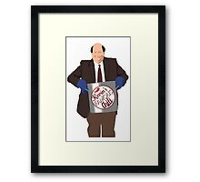 Kevin's Famous Chili Framed Print