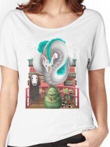 Spirited Away - Miyazaki Studio Ghibli Tribute Women's Relaxed Fit T-Shirt