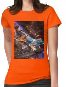 THE MR. TRAVIS EXPERIENCE Womens Fitted T-Shirt