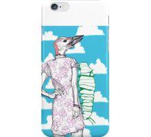 woodpecker and caterpillar iPhone Case/Skin