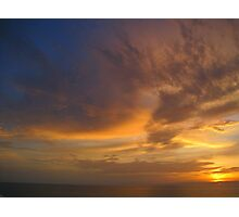 Ocean Sunset #1 Photographic Print