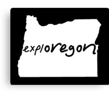 explOREGON Canvas Print
