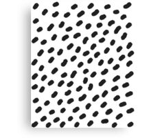 Painting with dots Canvas Print