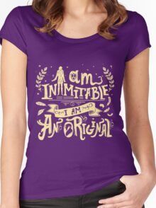 Inimitable Women's Fitted Scoop T-Shirt