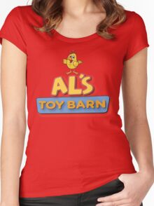 Als Toy Barn Women's Fitted Scoop T-Shirt