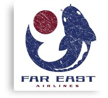Far East Airlines Canvas Print