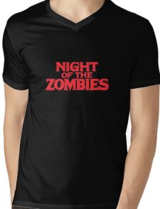 Night of the zombies! Mens V-Neck T-Shirt