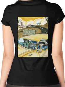 Keith & Ronnie Fordyce Arkansas Rolling Stones Women's Fitted Scoop T-Shirt