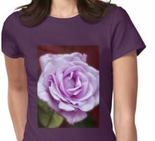 Heavenly Fragrance - Dreamy Blue Moon Rose Womens Fitted T-Shirt