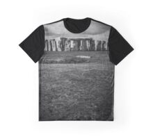 Stonehenge and Storm Clouds Graphic T-Shirt