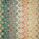 Retro Circles Pattern by Phil Perkins