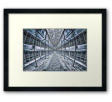 Geometric Building Framed Print