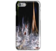 Milkweed Display iPhone Case/Skin