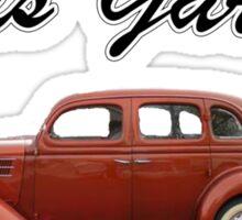 Chris_Garage Sticker