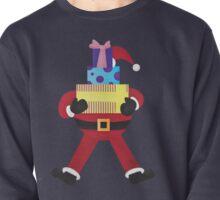 Santa and Presents Pullover