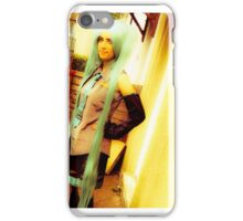 Hatsune miku cosplay II iPhone Case/Skin