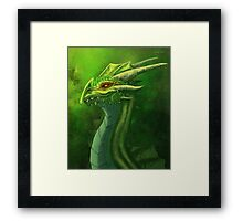 Dragon bust Framed Print