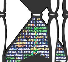 CODER  (hourglass)(programming) Sticker