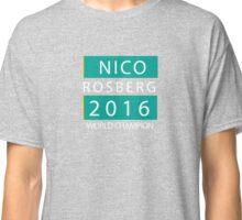 NICO ROSBERG WORLD CHANPION Classic T-Shirt