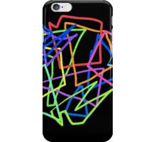 Technicolor Shapes iPhone Case/Skin