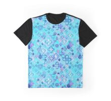 Moroccan Blues Graphic T-Shirt