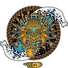 Multicultural Golden buddha by creativenergy