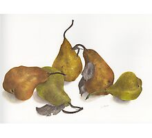 Pear quintet Photographic Print