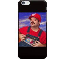 SexyMario - Playing the WiiU iPhone Case/Skin