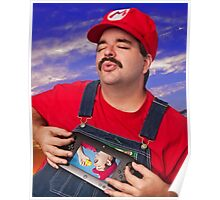 SexyMario - Playing the WiiU Poster