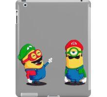 MARIO MINIONS iPad Case/Skin