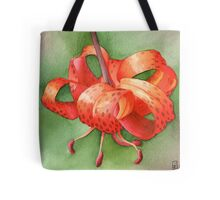 Turks Cap Lily at Attingham Park - Watercolour markers Tote Bag