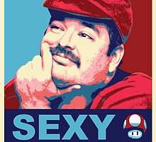 SexyMario - Hope / Obey Homage by SexyMario
