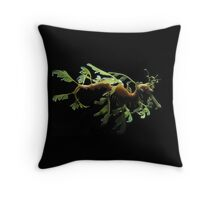 LEAFY SEA DRAGON - PILLOW AND OR TOTE BAG Throw Pillow