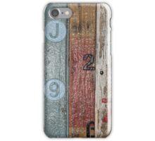 Number 5 Orange iPhone Case/Skin