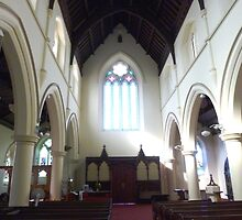 Windows - Holy Trinity Church  - Williamstown, Vic. by EdsMum
