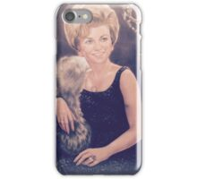 Clarice Pastel Chalk Portrait Drawing iPhone Case/Skin