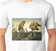 Owls On The Hunt L B Unisex T-Shirt