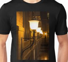 Perspective Study - Elegant Glass Brass and Iron Wall Sconces Right Unisex T-Shirt