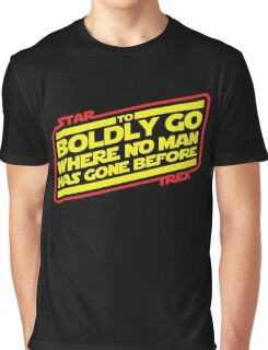 To Boldly Go Graphic T-Shirt
