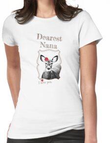 Deer Nana - I love my dear family Womens Fitted T-Shirt