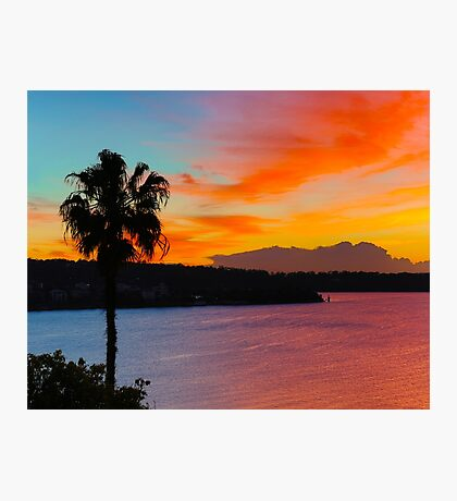 Where Warm And Cool Meet Photographic Print