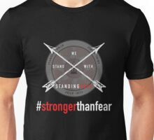 Stand With Standing Rock- #Strongerthanfear Unisex T-Shirt