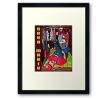 SexyMario - Mobile Party Framed Print