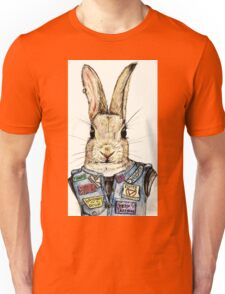 Metal Bunny Unisex T-Shirt