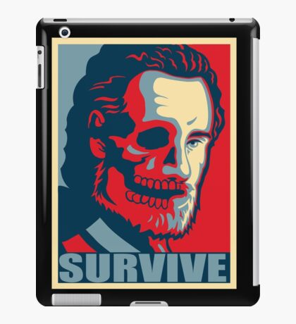 Don't screw Rick iPad Case/Skin