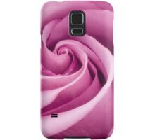 Pink Rose Folded To Perfection Samsung Galaxy Case/Skin