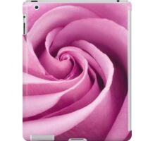 Pink Rose Folded To Perfection iPad Case/Skin