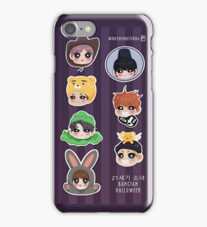 BANGTAN HALLOWEEN iPhone Case/Skin